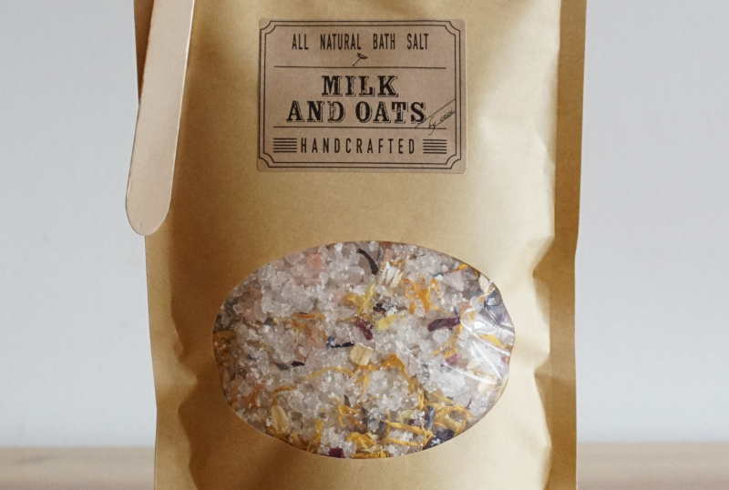 Milk & Oats Bath Salt